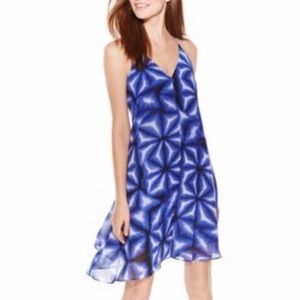 NWT Calvin Klein Blue Byzantine Dress Size 8